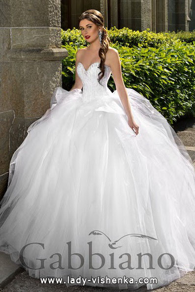 Пишні весільні сукні фото - Gabbiano
