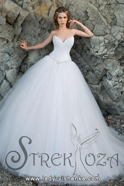 Красиві пишні весільні сукні фото - Strekoza