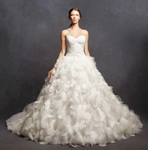 Красиві пишні весільні сукні 2016 - Isabelle Armstrong