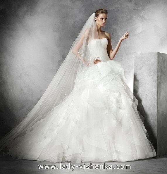 Пишні весільні сукні 2016 - Pronovias
