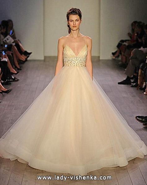 Пишні весільні сукні 2016 - Lazaro