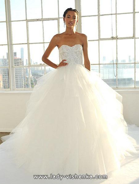 Пишні весільні сукні 2016 - Marchesa