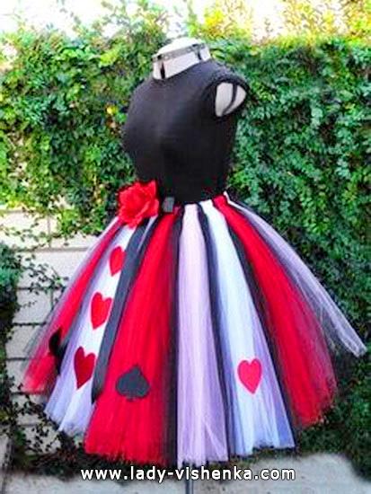 Сексі костюм Королеви Черв'яків на Хеллоуїн