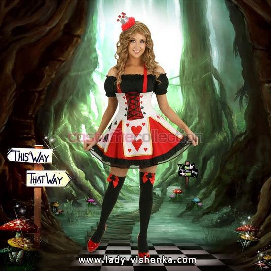 Оригінальний костюм Королеви Сердець