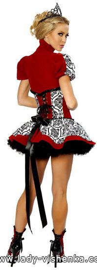 Дуже коротке плаття Королеви Черв'яків на Хеллоуїн