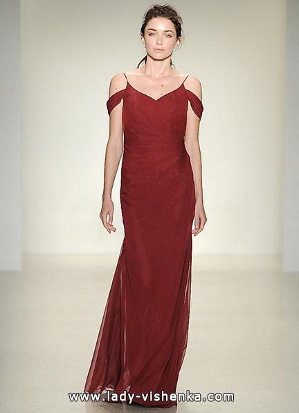 Червоне весільне плаття 2016 - Kelly Faetanini