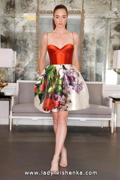 Весільні сукні з червоними елементами - Romona Keveza