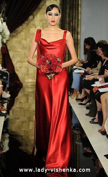 Червоне весільне плаття 2016 - Theia