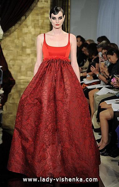 Червоні весільні сукні фото - Theia