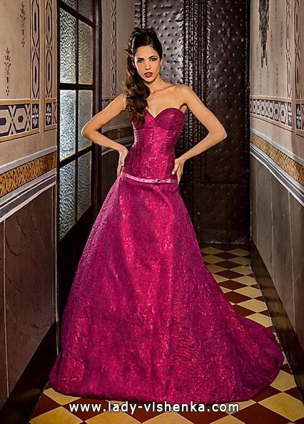 Весільні сукні червоного кольору фото - Jordi Dalmau