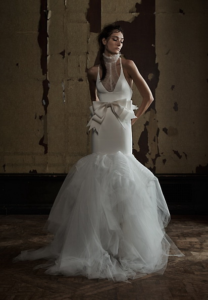 Атласне плаття - русалка - Vera Wang