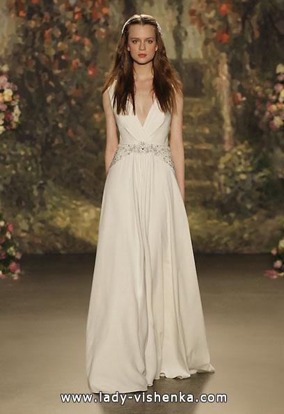 Атласні весільні сукні 2016 - Jenny Packham