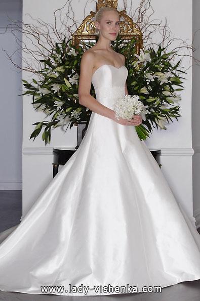 Атласні весільні сукні 2016 - Romona Keveza