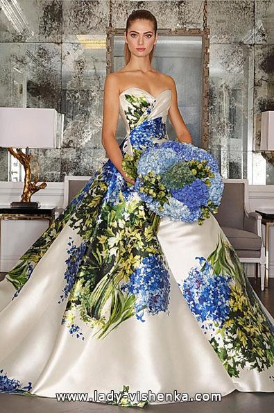 Атласні весільні сукні 2016 фото - Romona Keveza