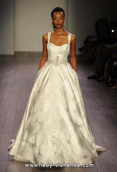 Атласні весільні сукні 2016 - Alvina Valenta
