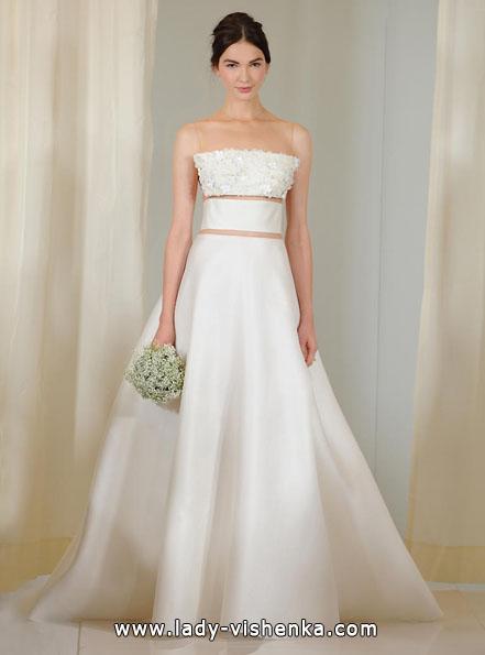 Атласні весільні сукні 2016 - Angel Sanchez