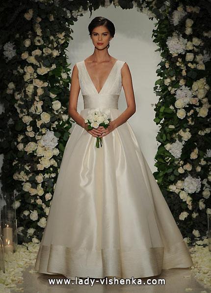 Атласні весільні сукні 2016 - Anne Barge