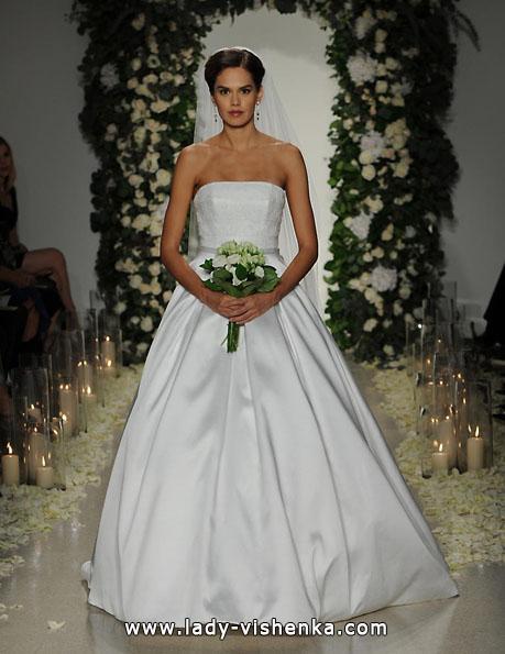Весільну сукню з атласу 2016 - Anne Barge
