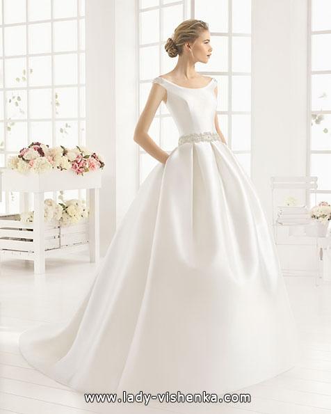 Атласні весільні сукні 2016 - Aire Barcelona