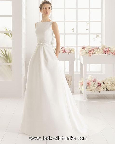 Весільну сукню з атласу 2016 - Aire Barcelona