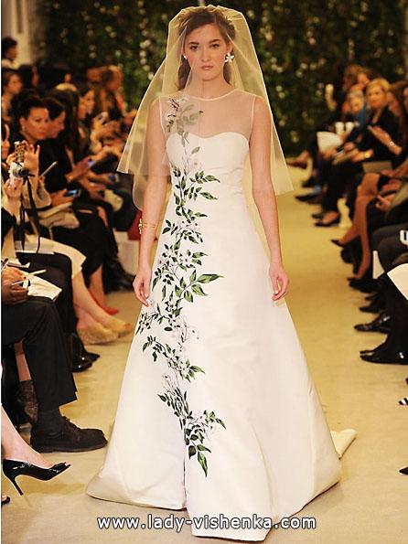 Атласні весільні сукні 2016 - Атласні весільні сукні 2016 - Carolina Herrera