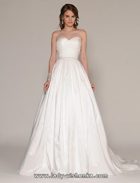 Атласні весільні сукні 2016 - Атласні весільні сукні 2016 - Eugenia Couture