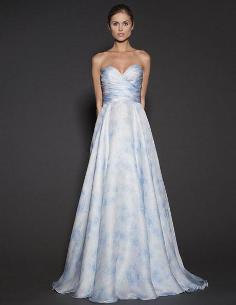 Атласні весільні сукні 2016 - Naeem Khan