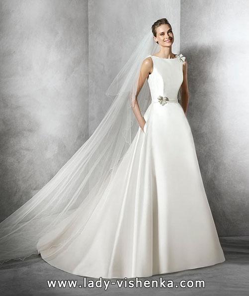 Атласні весільні сукні весна 2016 - Pronovias
