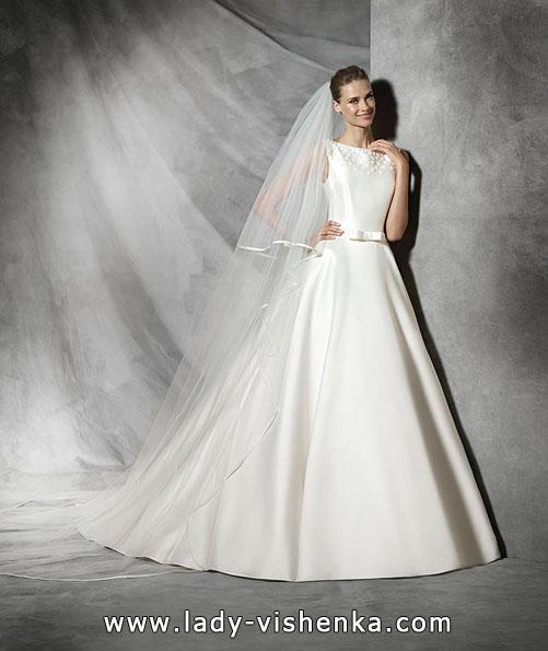 АтАтласные весільні сукні 2016 - дизайнер Pronovias