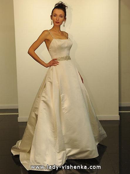 Атласні весільні сукні 2016 - Victor Harper