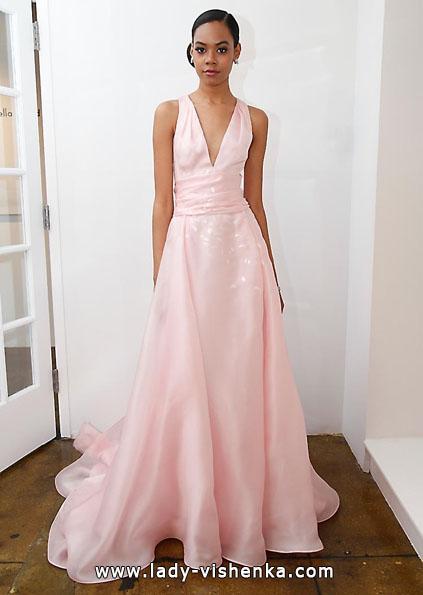 Весільну сукню з атласу 2016 - Pamella Roland