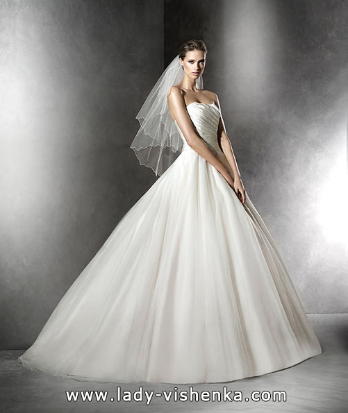 Атласні весільні сукні 2016 - Pronovias