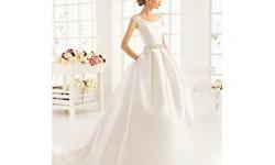 Атласні весільні сукні весна 2016 фото - Aire Barcelona