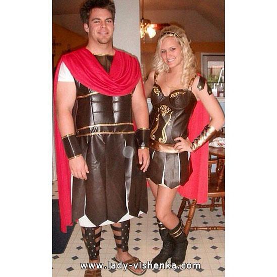 Гладіатори - сексуальний костюм для пари