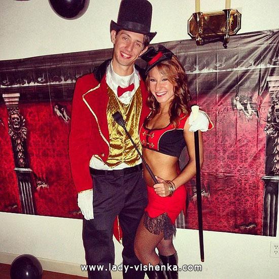 Цирковий костюм для пари на Хеллоуїн