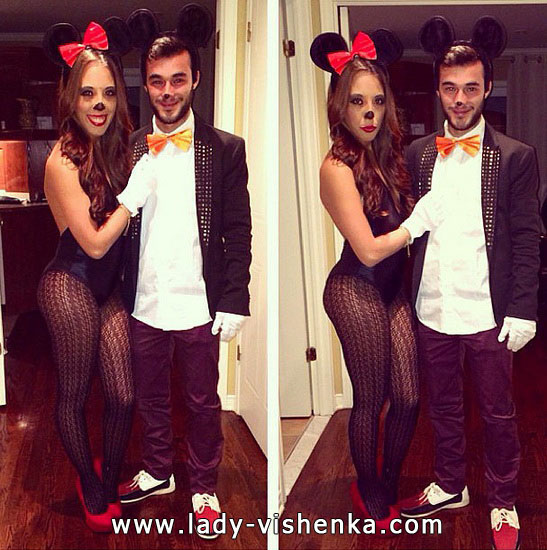 Міккі і Мінні Маус - костюм для пари на Хеллоуїн