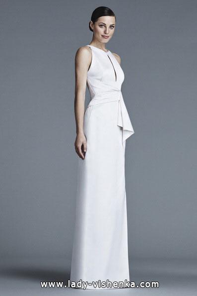 Прямі весільні сукні фото 2016 - J Mendel