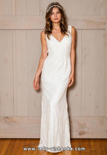 Пряме весільну сукню 2016 - david's Bridal