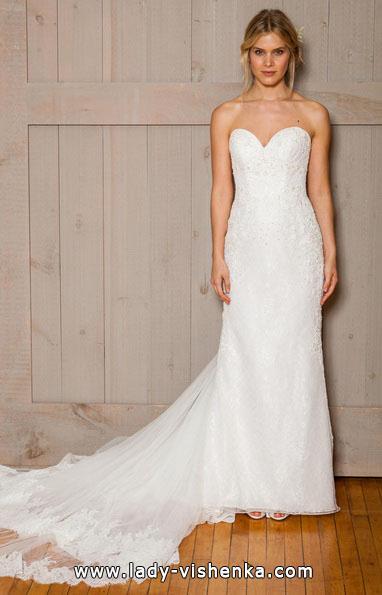 Пряме весільну сукню фото 2016 - david's Bridal