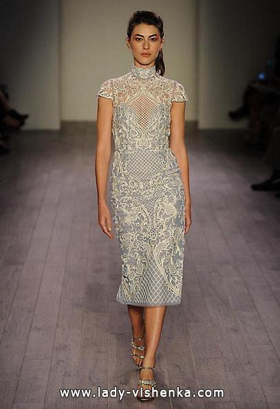 Весільне плаття коротке мереживне 2016 - Hayley Paige