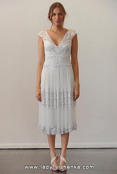 Весільне плаття коротке мереживне 2016 - Temperley