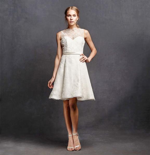 Весільне плаття коротке мереживне 2016 - Isabelle Armstrong