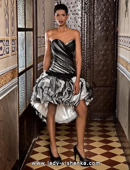 Короткий пишне весільне плаття 2016 - Jordi Dalmau