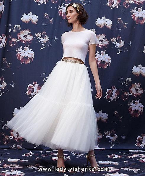 Короткі пишні весільні сукні 2016 - Ivy & Aster