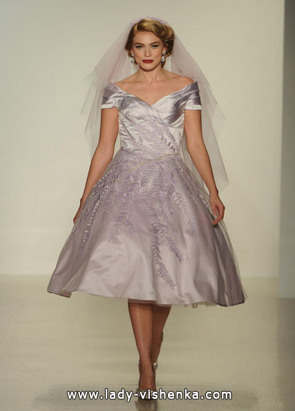 Короткі пишні весільні сукні 2016 - Matthew Christopher