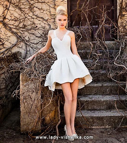 Короткі пишні весільні сукні 2016 - Jordi Dalmau