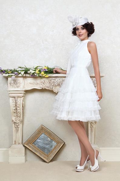 Короткі пишні весільні сукні фото 2016 - Tatiana Kaplun
