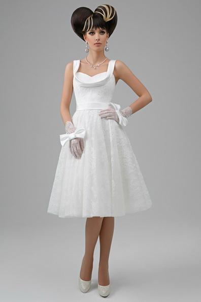 Пишне весільне плаття довжиною до коліна 2016 - Tatiana Kaplun