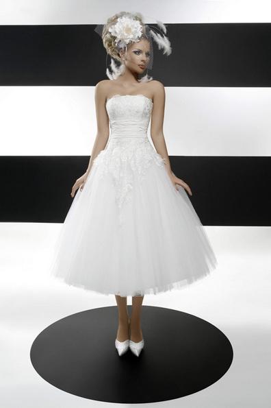 Пишне весільне плаття довжини 3/4 2016 - Tatiana Kaplun