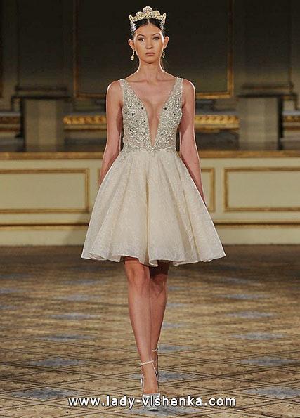 Короткі пишні весільні сукні 2016 - Berta